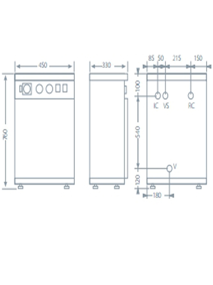 Caldera eléctrica Domusa HDEE 45/90_product