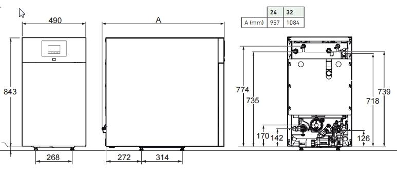 Caldera de gasoil Argenta 32 GTIF Condens_product