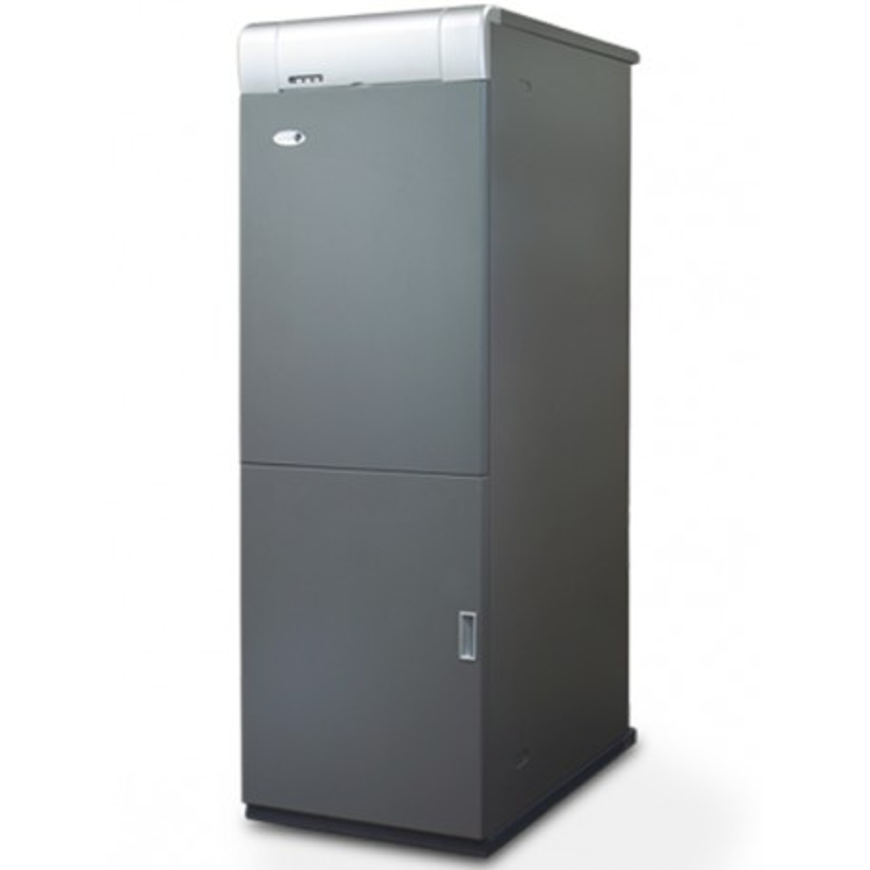 Caldera de gasoil Domusa MCF 40 HDXV E con Kit SRX2 con acumulador 100l.
