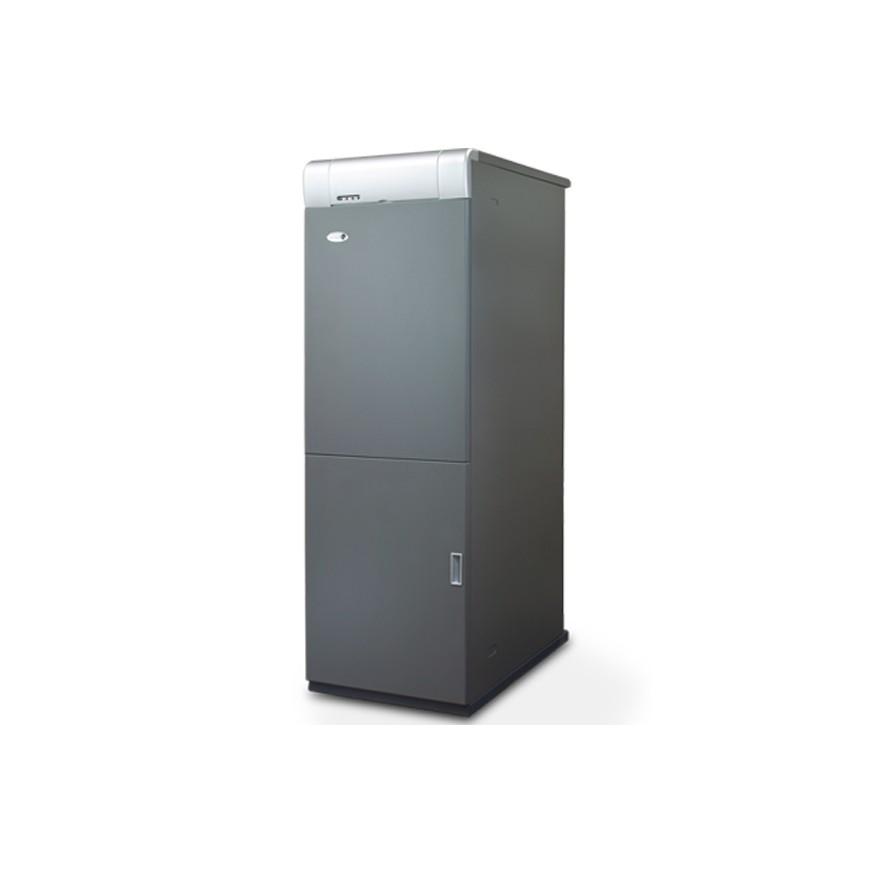 Caldera de gasoil Domusa MCF 30 HDX con Kit SRX1 con acumulador 100l.