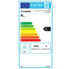 Termo eléctrico junkers Elacell 120L vertical