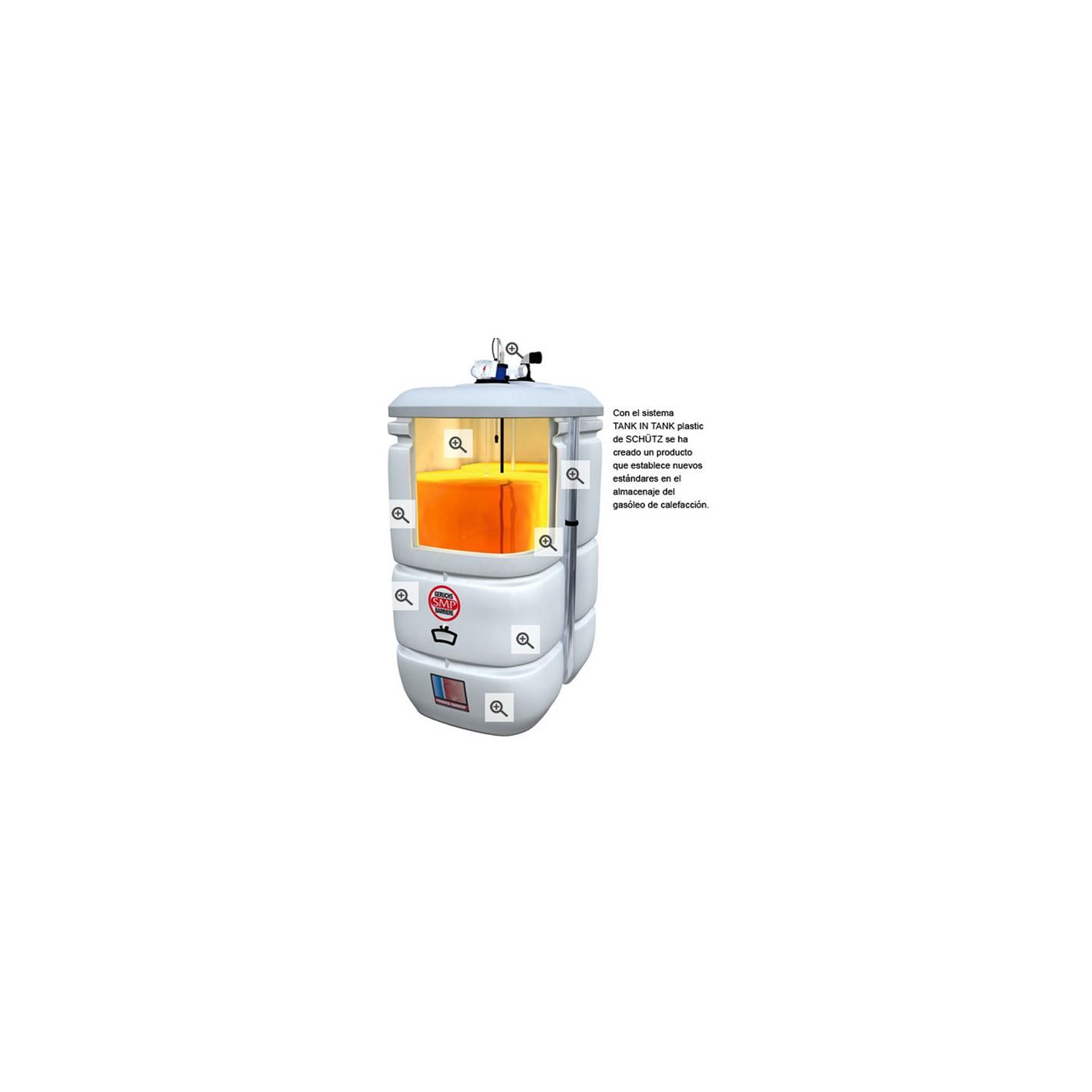 Dep sito de gasoil sch tz tank in tank 1000 l compra online - Deposito 1000 litros ...