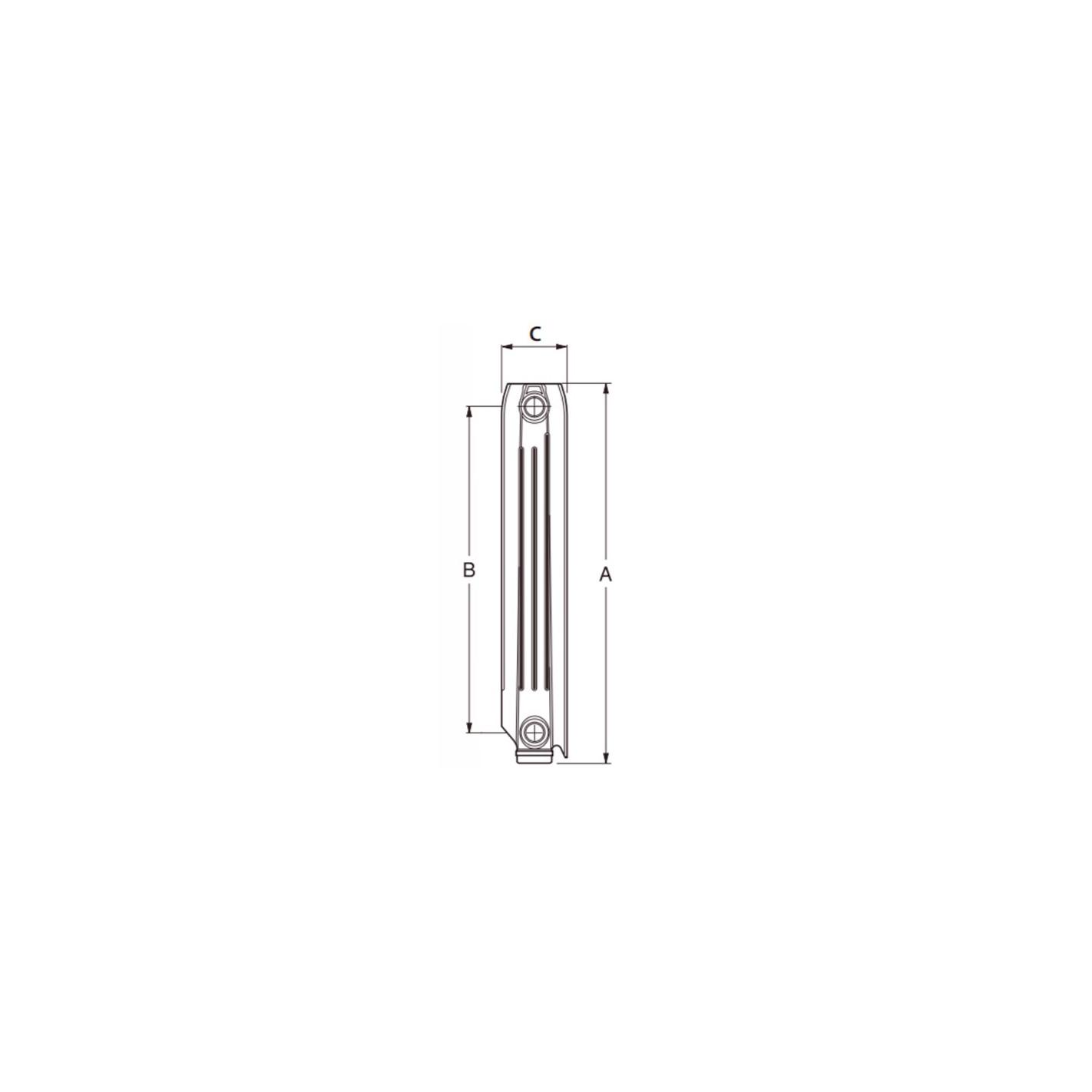 Radiadores de aluminio roca perfect radiadores de - Cambiar radiador por toallero ...