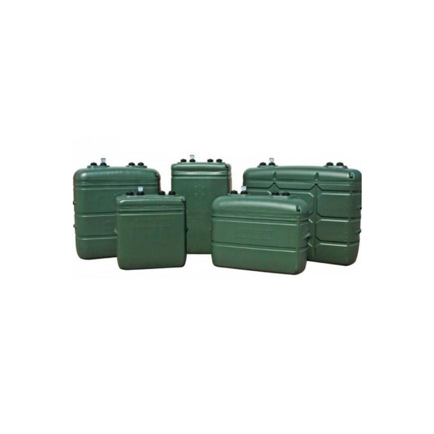 Depósito de pared de doble capa Sotralentz Confort Verde 1000 L