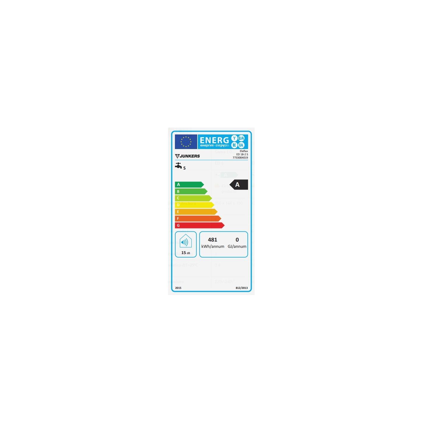 Calentador el ctrico instant neo junkers ed 18 2s precio - Calentador electrico precio ...
