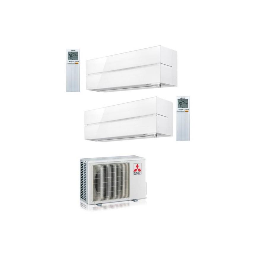 Aire acondicionado 2x1 Mitsubisihi con externa mxz53vf+ln35 vg +ln 35 vg