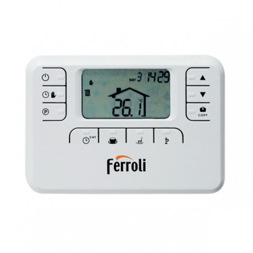 Termostato Ferroli sin hilos Oscar W RF + Sonda exterior