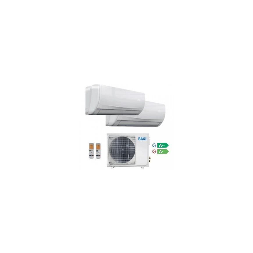 Aire acondicionado 2x1 Baxi Anori LSGT50-2M + Splits 25kW y 35kW