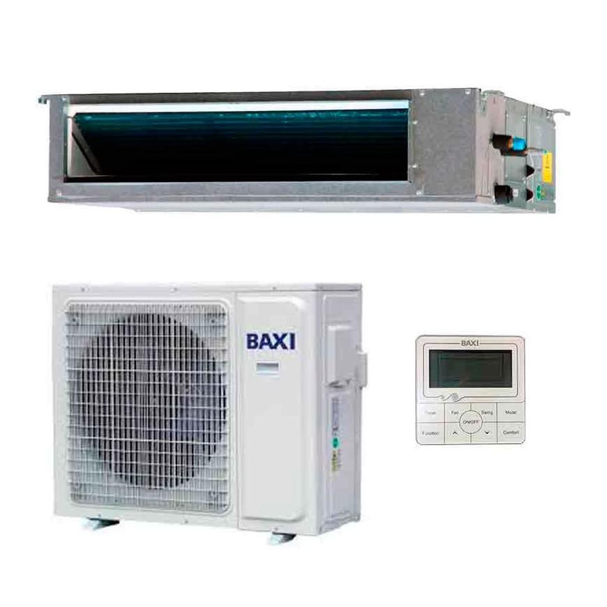 Aire Acondicionado por conductos Baxi Nanuk RZGD120