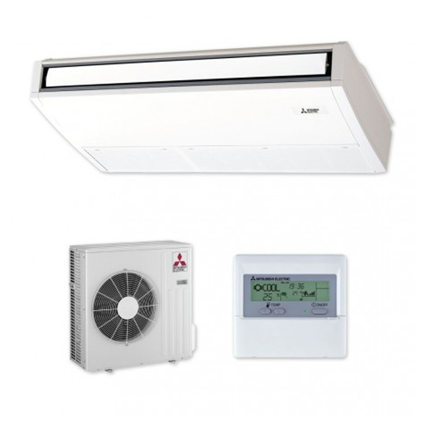Aire acondicionado techo mitsubishi spczs 71vka precio for Comparativa aire acondicionado daikin mitsubishi