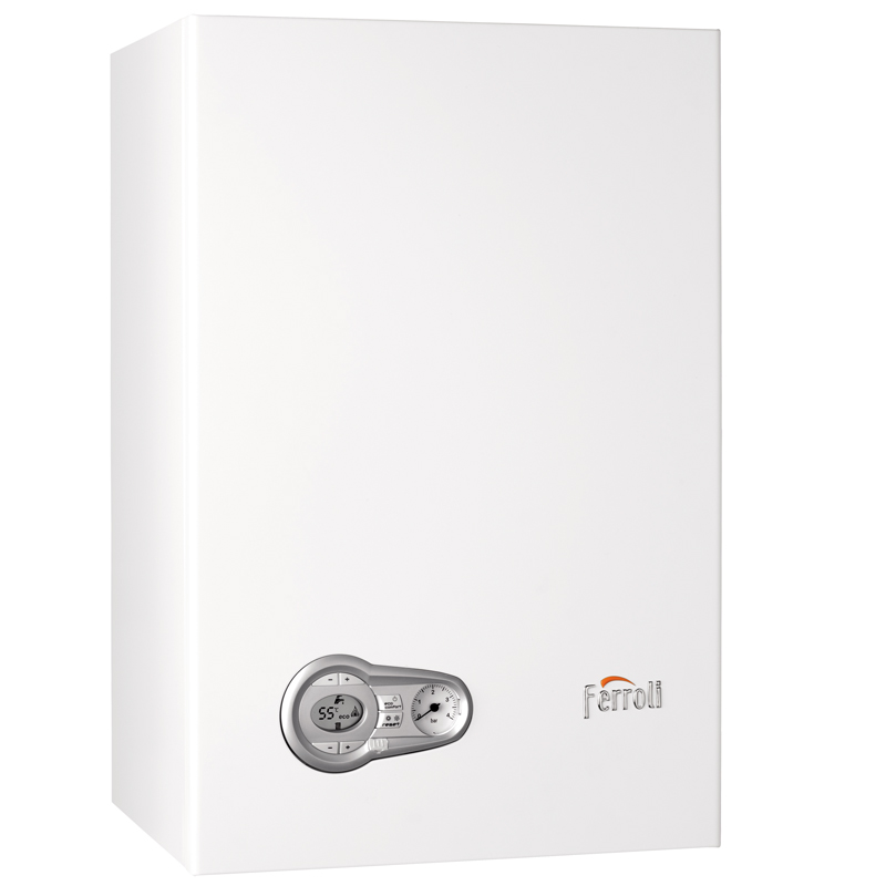 Caldera a gas de condensación Ferroli BLUEHELIX TECH 25 K 50 N + kit salida de gases estándar