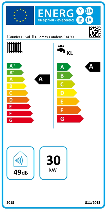 Caldera de gas de condensación Saunier Duval Duomax Condens 35/90 L_product