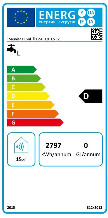 Termo eléctrico Saunier Duval E-SD 120 ES C2_product