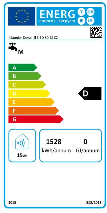 Termo eléctrico Saunier Duval E-SD 50 ES C2_product