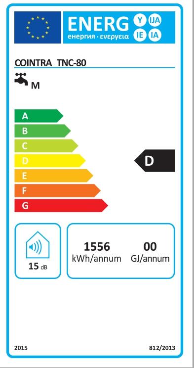 Termo eléctrico Cointra TNC-80_product