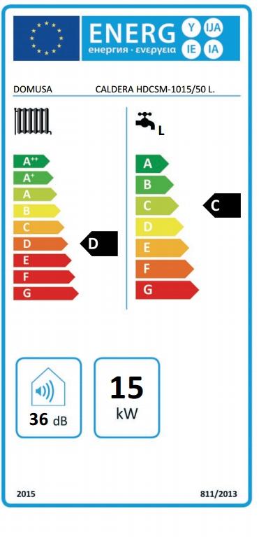Caldera eléctrica Domusa HDCSM 10/15 ACUMULADOR 50 L_product
