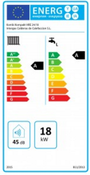 Caldera de gas Intergas Kombi Kompakt hre 24/18_product