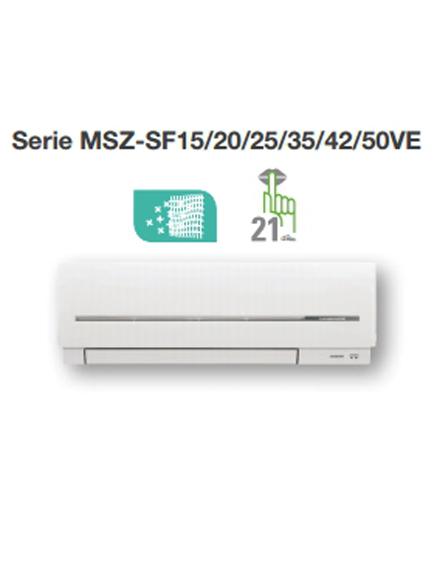 Aire acondicionado 2x1 Mitsubishi MXZ-2D42VA+MSZ-SF25VE2+MSZ-SF35VE2_product