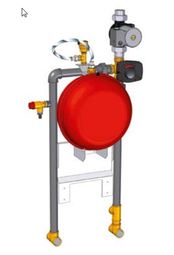 Kit hidráulico Jaka HFD Condens