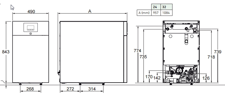 Caldera de gasoil Argenta 32 GTI Condens_product