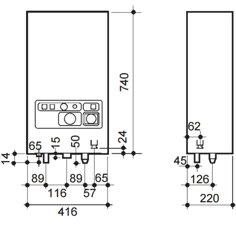 Caldera eléctrica BaxiRoca CML 15_product