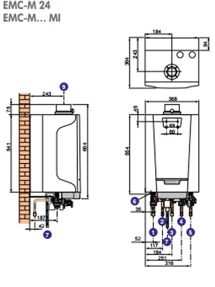 Caldera de gas De Dietrich Naneo EMC-M 30/35 MI NAT_product