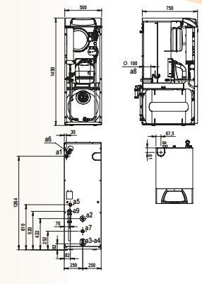 Caldera de gasoil Ferroli Silent D Condens 30 K 100 Unit_product