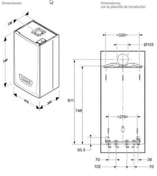 Caldera de gas de condensación Saunier Duval Thema Condens AS 30_product