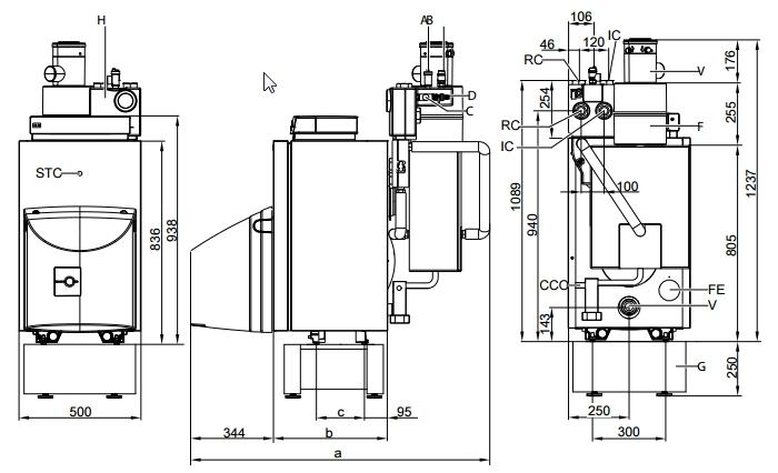 Caldera de gasoil Viessmann VITORONDENS 200-T BR2A 20,2 kW_product