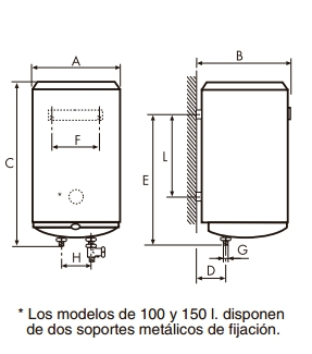 Termo eléctrico Cointra Aral TNC-150_product