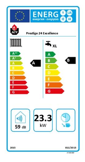 Caldera de condensación ACV Prestige 24 Excellence_product