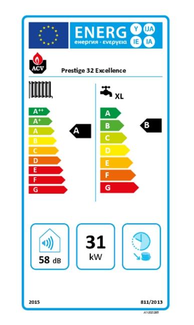 Caldera a gas de condensación ACV Prestige 32 Excellence_product