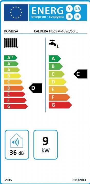 Caldera eléctrica Domusa HDCSM 45/90 ACUMULADOR 50 L_product