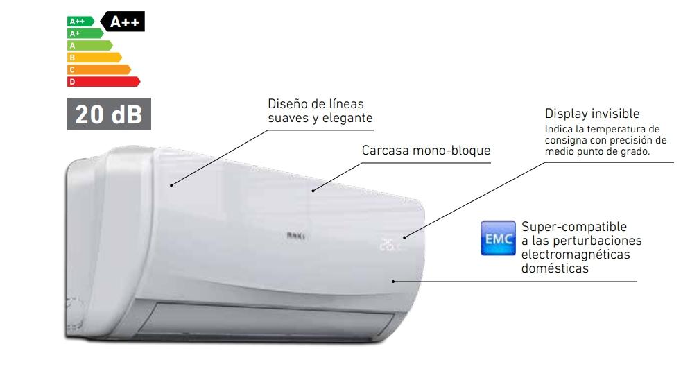 Aire acondicionado Baxi Anori 2x1_product