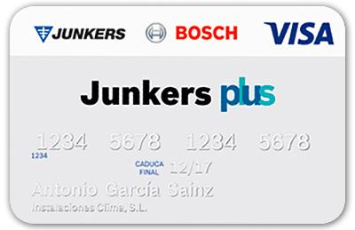 Tarjeta de socio Junkers Activa