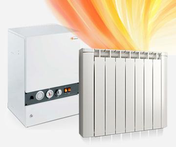 caldera eléctrica calefacción