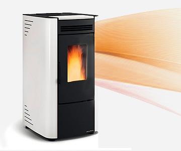 estufa biomasa calefacción