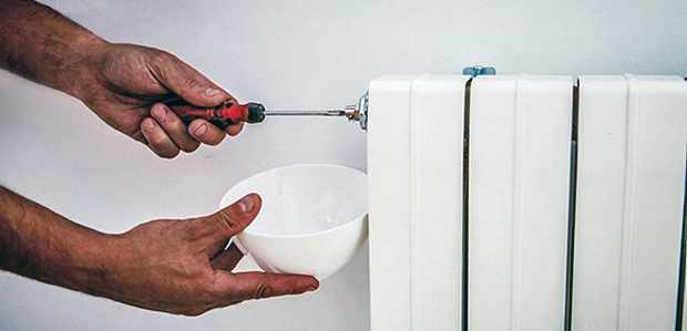 Pasos para purgar los radiadores de tu casa