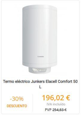 termo eléctrico junkers comfort