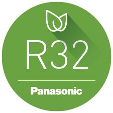Gas refrigerante R32 de panasonic