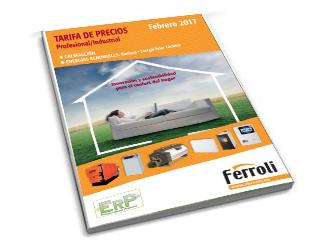 Catálogo Ferroli 2017