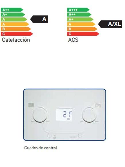Calificación energética en calefaccion y ACS