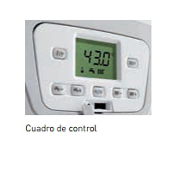 Display Caldera BAXI Platinum Alux 33/33 F