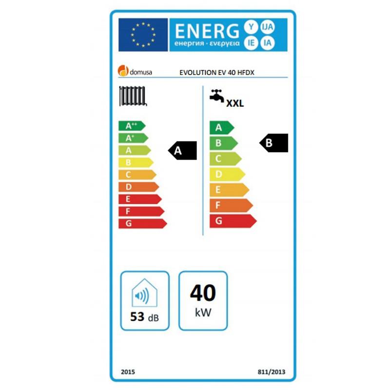 Eficiencia energética Caldera de gasoil