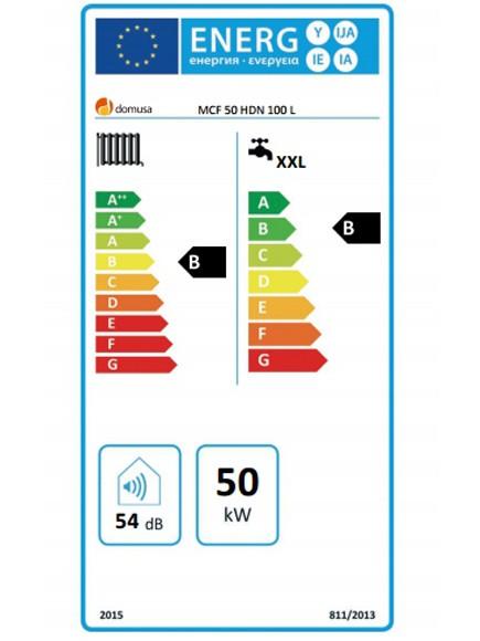 Clasificación energética Domusa MCF 50 HDN