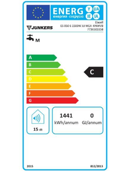 Eficiencia del Termo eléctrico junkers Elacell 50L