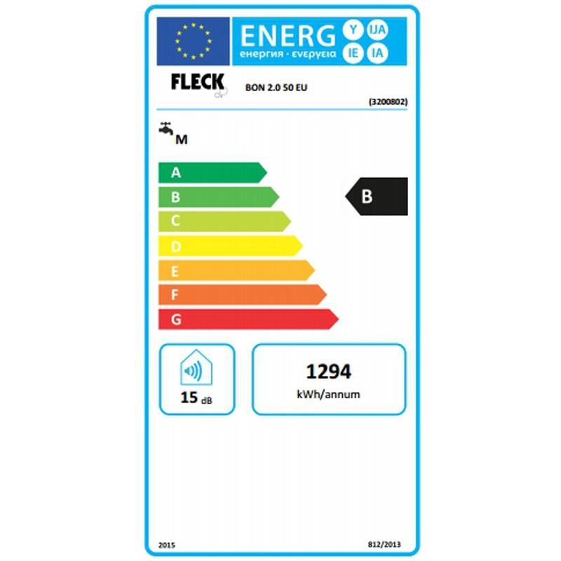 Clasificación energética Fleck Bon 50 EU