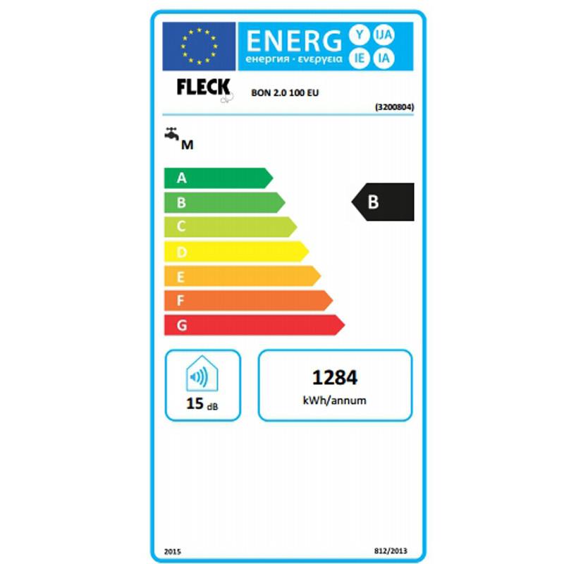 Clasificación energética Fleck Bon 100 EU